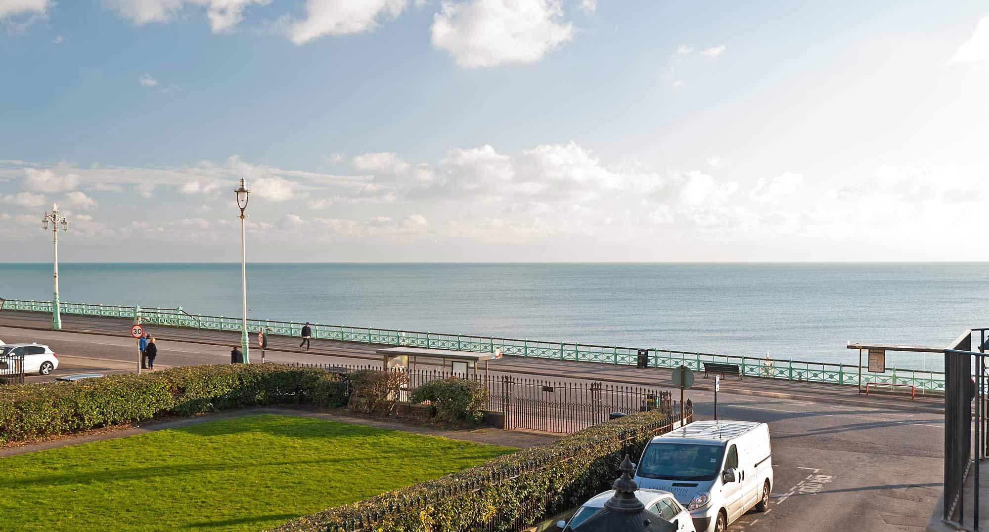 Next to Brighton Seafront